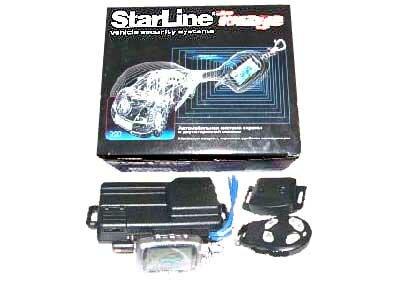Установка автосигнализации StarLine A6
