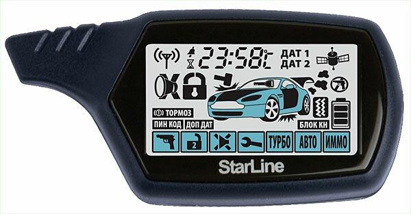 Брелок сигнализации Starline A61 Dialog