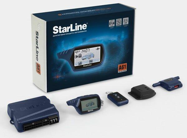 Установка сигнализации Starline A61 Dialog