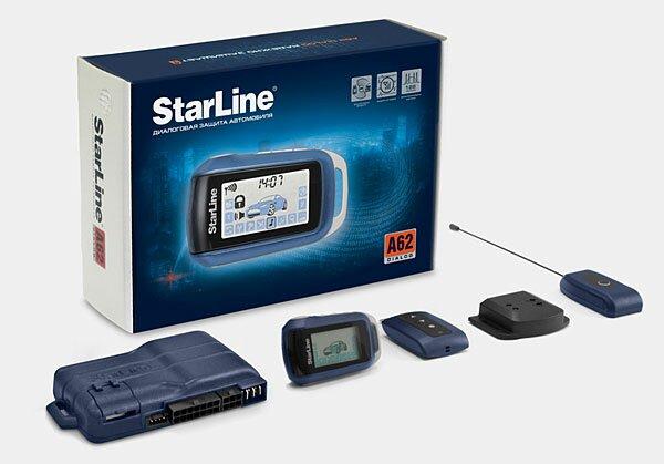 Установка сигнализации Starline A62 Dialog